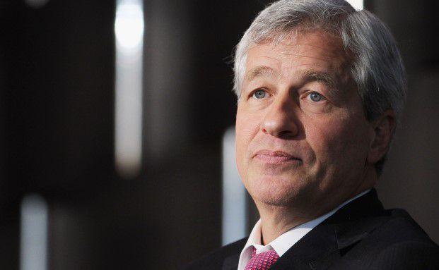 Jamie Dimon, Geschäftsführer von J.P. Morgan. Foto: Getty Images