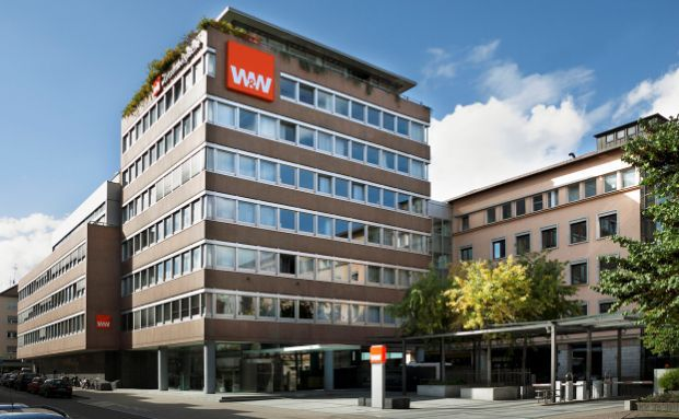 W&W Standort am Feuersee, Stuttgart (Foto: W&W)