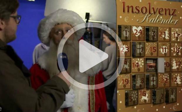 Knallharter Geschäftemacher: Jesko Friedrich als Weihnachtsmann (Screenshot)