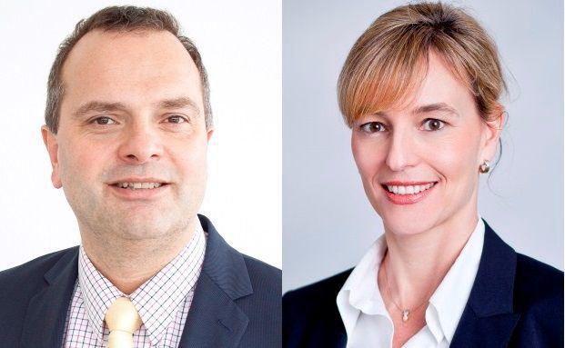 Kai Wiecking und Marion Fischer von Pioneer Investments