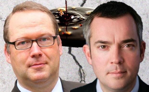 Ein phantastisches Investment oder nicht zu empfehlen? Max Otte (l.) und Niall Gallagher sind in punkto Ölaktien unterschiedlicher Meinung.