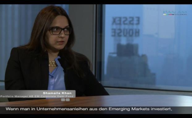 Shamaila Khan, Portfolio Managerin AB Emerging Markets Corporate Debt Portfolio