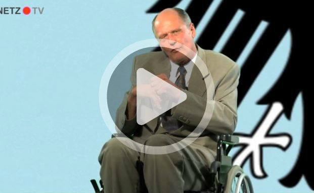 Mag keine Bedenkenträger: Reiner Kröhnert als Bundesfinanzminister Wolfgang Schäuble