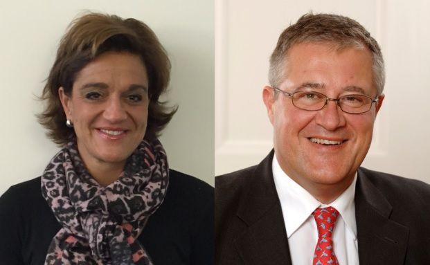 Monika Wackermann und Thomas Dinges