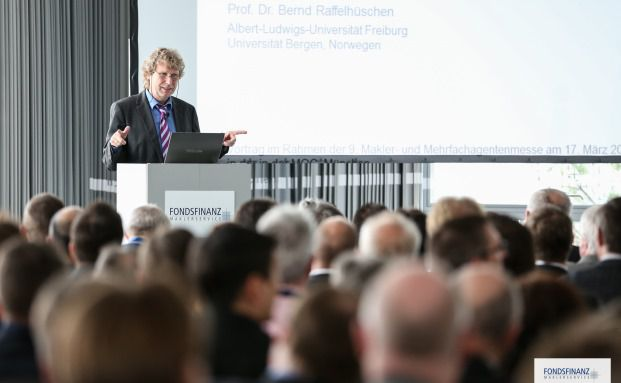 Bernd Raffelhüschen: Der Finanzexperte hielt einen Vortrag auf der Fonds-Finanz-Messe in München (Foto: Fonds Finanz)