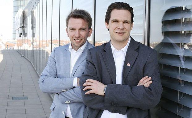 Tobias Haff (vorne) und Daniel Hering, Procheck24