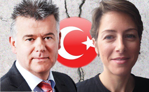 Markus Brück, Manager des Metzler Eastern Europe und Irina Topa-Serry, Managerin des Axa Framlington Emerging Europe