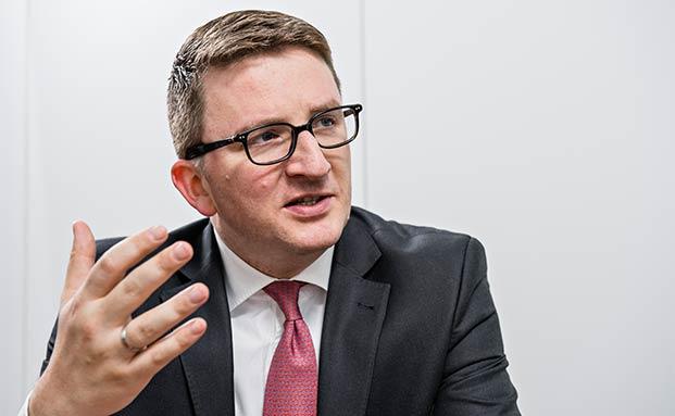 Christian Machts, Leiter Privatkundengeschäft Deutschland, Schweiz, Österreich und Osteuropa bei BlackRock (Bild: Uwe Nölke)