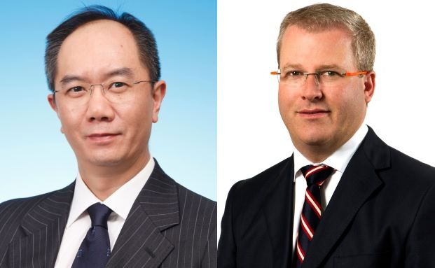 Anthony Chan, Asien-Volkswirt, und Haydon Briscoe, Director Asia-Pacific Fixed Income bei AB