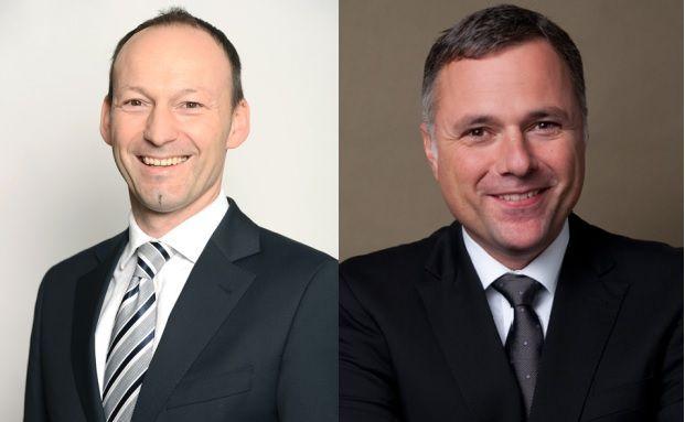 Dr. Christian Lach, Portfolio Manager des BB Adamant Biotech (Lux) und Stefan Blum, Portfolio Manager des BB Adamant Medtech (Lux).