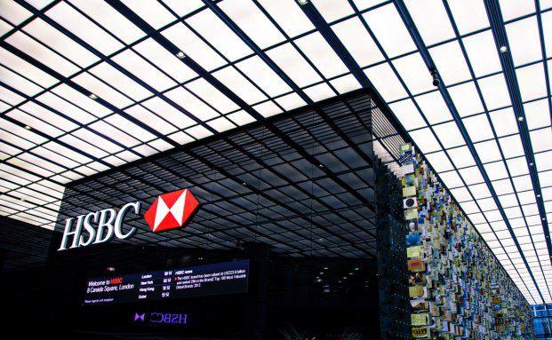 HSBC Hauptsitz in London. Foto: Getty Images