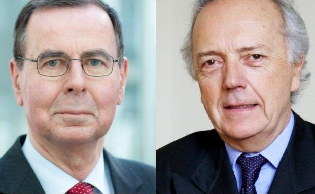 Zwei Altmeister im Kampf um Prozente und Kunden: Klaus Kaldemorgen (links) und Edouard Carmignac