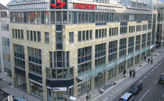 Auf Platz 1: Die Hallesche Krankenversicherung. Foto: Hallesche