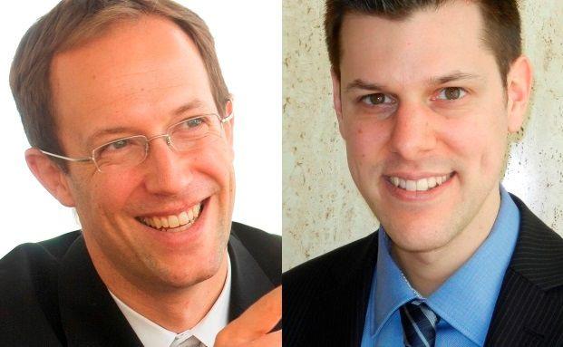 Ralf Gleisberg (links) und Ramun Derungs: Zusammen mit Professor Oliver Gottschalg die Autoren der Private-Equity-Studie