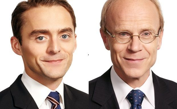 Andreas Rodin (rechts) und Peter Bujotzek, beides Partner der Rechtsanwalts- und Steuerberaterkanzlei Pöllath + Partner