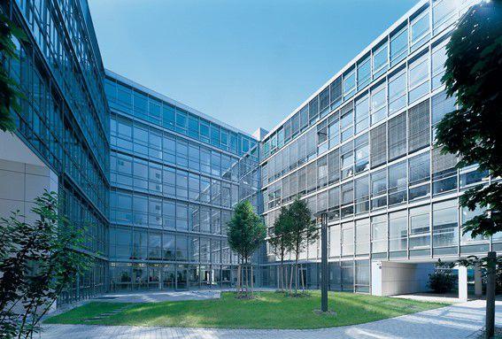 Das Seidlforum in München. In Münchens Toplagen stiegen Immobilienpreise zwischen 2010 und Ende 2014 um fast 50 Prozent. (Foto: Commerz Real)