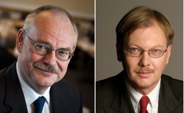 Gert Wagner (links) vom DIW und Frank-Henning Florian von der R+V.  Bild: DIW; R+V