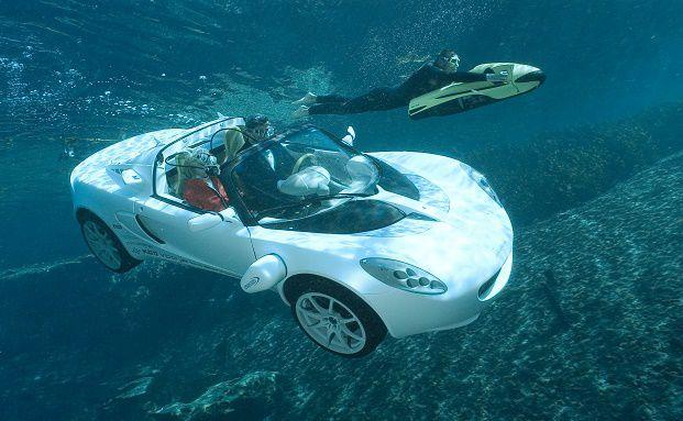 Amphibien-Fahrzeug sQuba: Auch VV-Fonds müssen sich für unterschiedliche Marktsituationen rüsten. (Foto: Rinspeed AG)