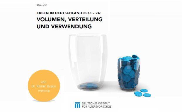 Neue Studie zur Entwicklung von Erbschaften vom Deutschen Institut für Altersvorsorge. Foto: DIA