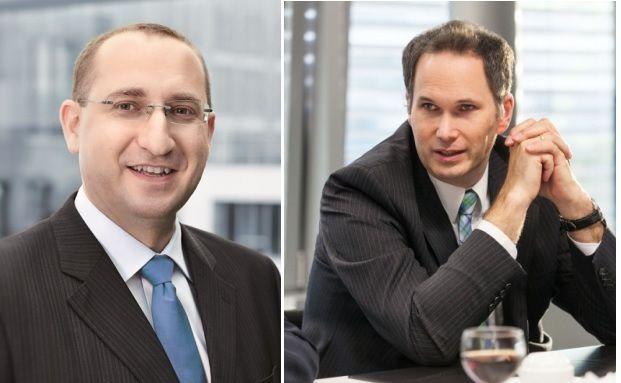 Guido Bader von der Stuttgarter (links) und Guntram Overbeck von der Helvetia. Fotos: Stuttgarter / Ruediger Glahs