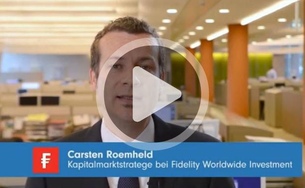 Wann sind Unternehmen weniger schwankungsanfällig? Hierzu Carsten Roemheld, Kapitalmarktstratege bei Fidelity International. (Bild: Fidelity International)