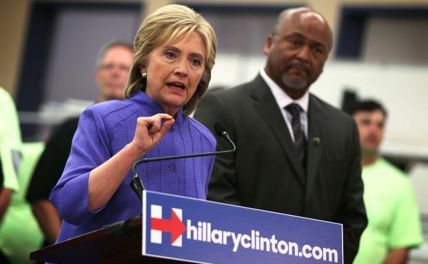 Hillary Clinton: Die US-Präsidentschaftskandidatin spricht sich gegen eine Preisexplosion bei Medikamenten aus. (Foto: Getty Images)