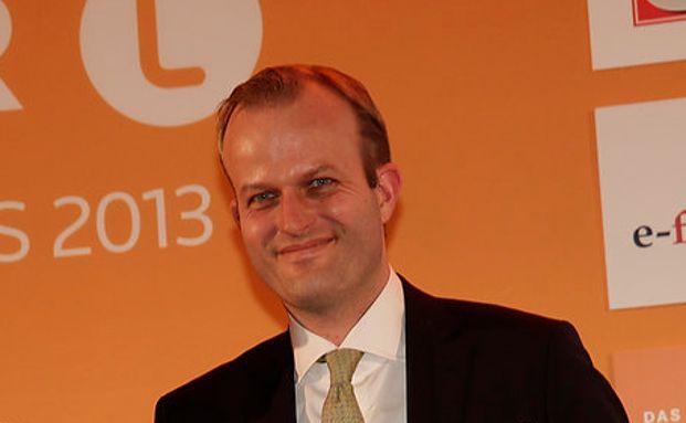 Jakob Wiggert der Preisverleihung der Lipper Fund Awards 2013.
