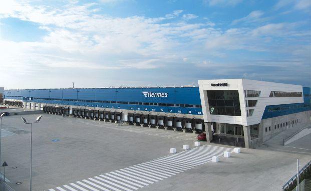 """Der """"Hermes HUB"""" liegt in der Nähe des Flughafens Hannover im Stadtteil Langenhagen. Foto: obs/Commerz Real AG"""