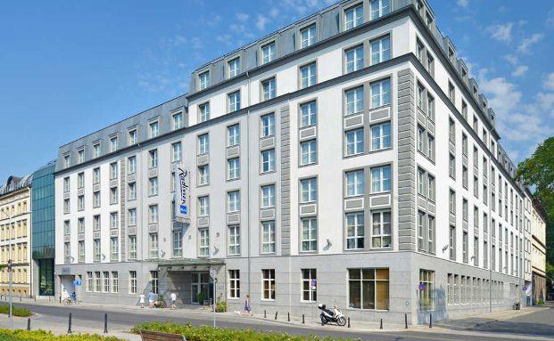 Neu im Portfolio von Union Investment: Das Radisson Blu Hotel im polnischen Breslau. Foto: Union Investment