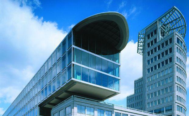 Die Zentrale der Mannheimer Versicherung.