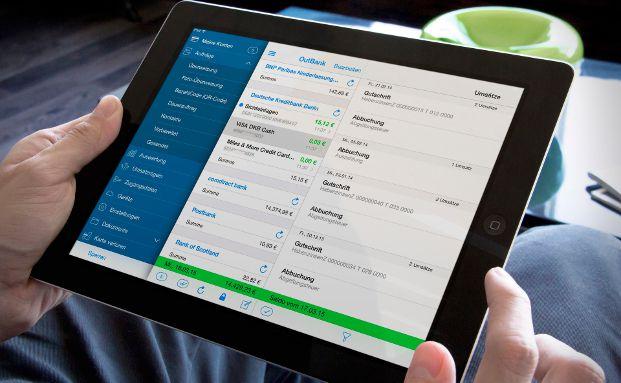 Die Outbank-App ist gemeinsam mit dem Angebot von Finanzblick Testsieger bei Computer Bild.
