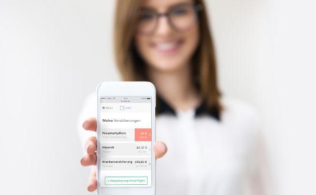 """Der digitale Versicherungsmakler Clark.de bietet seinen Kunden nach eigenen Angaben bereits """"die modernste Lösung, um Versicherungen so angenehm und sicher wie möglich zu managen""""."""