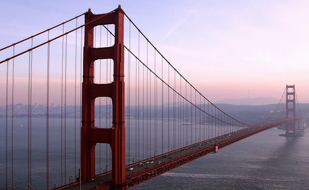 Golden Gate Bridge in San Francisco. In der US-Metropole traf sich im Januar das Who-is-Who des Gesundheitssektors zur JP-Morgan-Healthcare-Konferenz. (Foto: Getty Images)