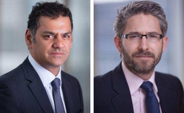 "Stephen Thariyan (l.) ist ""global head of credit"" bei Henderson Global Investors. Chris Bullock hat das Unternehmen verlassen."