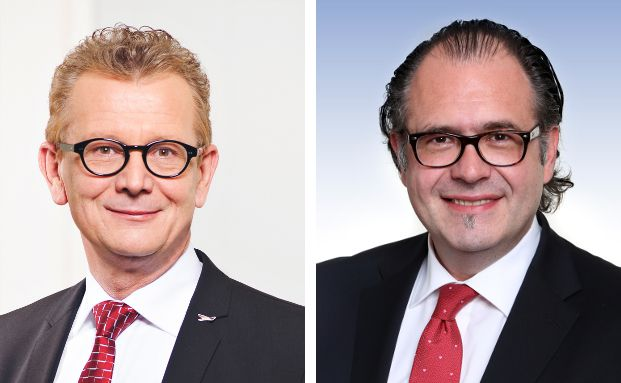 Hans-Jürgen Friedrich (l.) ist Vorstand der KFM Deutsche Mittelstand. Ralf Meinerzag ist Anlagechef des Steubing German Mittelstand Fund.