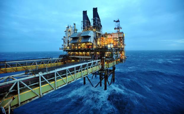 Öl-Bohrinsel in der Nordsee. Der niedrige Ölpreis beeinflusst das Wachstum vieler Volkswirtschaften enorm. (Bild: Getty Images)