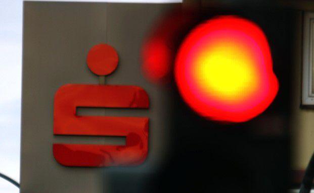 Sparkasse Logo. Foto: Getty Images