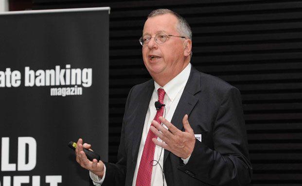 Martin Weber, Wirtschaftsprofessor in Mannheim, auf dem private banking kongress in München 2012