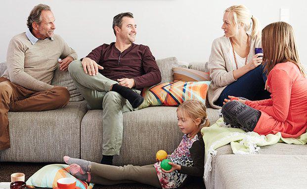 Familie und Freunde machen die meisten Deutschen glücklich. Foto: DVAG