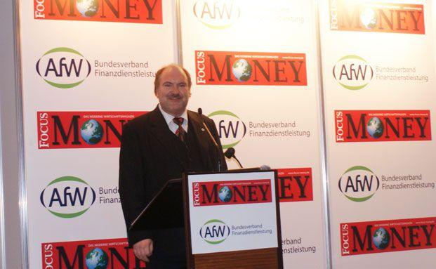 Carsten Brückner ist Vorstand des Vermittlerverbands AfW.