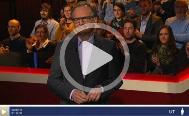 """Frank Plasberg, Moderator der Sendung """"Hart aber Fair"""". Foto: © Screenshot ARD"""
