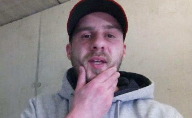 Claudius Holler: Ohne Versicherung, aber mit Krebsdiagnose startet er einen Hilferuf auf Youtube. Foto: Screenshot Youtube