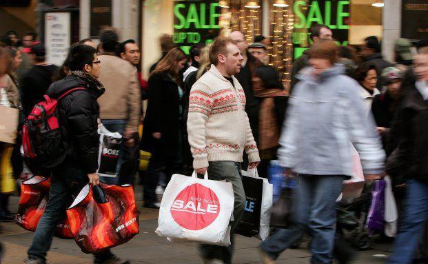 Winterschlussverkauf in London: Saisonale Wirtschaftsphänomene spielen bei der Berechnung der Kerninflation eine große Rolle und können ein unerwartetes Maß an Volatilität verursachen. (Bild: Getty Images)