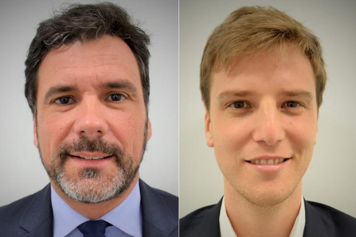 Neue Gesichter im Bereich Asset Management des Immobilien-Investors La Française: Jean-Charles Le Scrill (inks) und Eric Tubin (rechts).