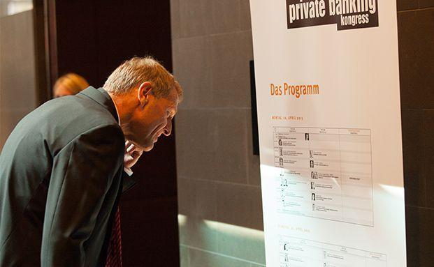 Vielfältiges Programm: Der private banking kongress in München hat seine Türen geöffnet. Foto: © C.Scholtysik und P. Hipp