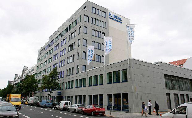 Die Ideal Versicherung in Berlin.