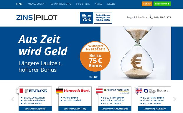 Screenshot der <a href='https://www.zinspilot.de/de/start/' target='_blank'>Zinspilot-Website</a>