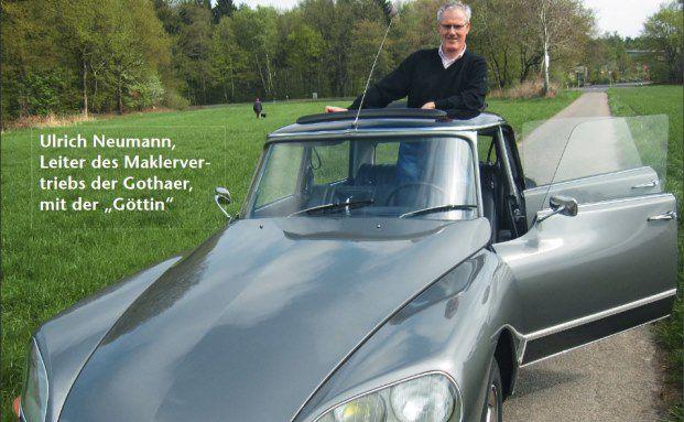 Ulrich Neumann, seit 1. Juli 2010 Leiter des Maklervertriebs der Gothaer.