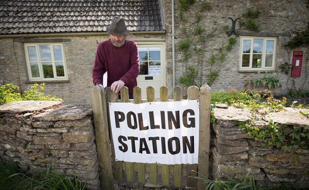 Wahlbüro in Wiltshire, England: Am 23. Juni stimmen die Briten über ihren Verbleib in der EU ab – das sorgt für viel Unsicherheit an den Märkten. (Foto: Getty Images)
