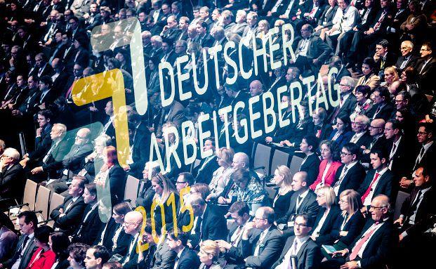 Impression vom Deutschen Arbeitgebertag 2015, Foto: BDA | Fotograf: Neumann, Unger